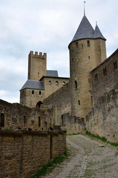 Carcassonne, a medieval city in South France