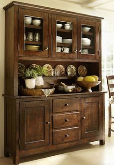 beautiful rustic wooden hutch http://rstyle.me/n/nxj6rr9te