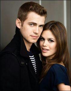Hayden Christensen and Rachel Bilson