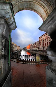 St Petersburg, Russia - magical canals. Make a boat trip on the canals or river Neva.