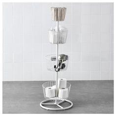 SPRUTT καλάθι αποθήκευσης με 4 επίπεδα - IKEA