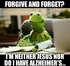 Gangster Kermit, keeping it real.
