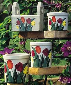 Pick Tulips For Spring project from DecoArt