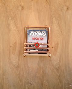 Wall Mounted Magazine Rack Modern Woodworking Projects Plans