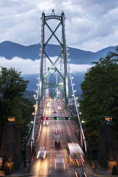 Lions Gate Bridge, Vancouver, Canada