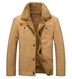 LONMMY M-5XL Military jacket men coat Army Velvet thickening Cotton air force 1 Bomber jacket men coat 2017 Winter jacket men
