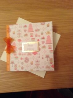 Tea for Two Handmade Birthday card SALE ITEM JUST REDUCED £1.60