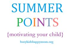 Summer Prizes for Summer Learning