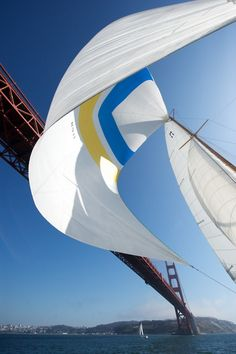 Golden Gate and an old spinnaker