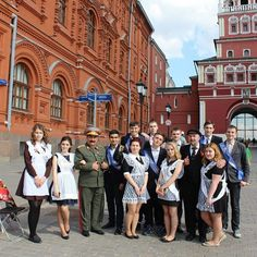 The most of Russian high schools graduations take place in May. Traditional ceremony in the schools of Russia and some other post-Soviet countries is commonly known as the Last Bell.
