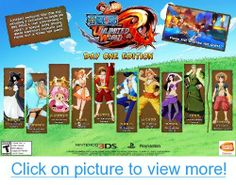 One Piece Unlimited World Red: Day 1 Edition - Nintendo Xbox One, Nintendo 3ds Games, Hat Day, Tv Ads, Playstation, Video Games, One Piece, Baseball Cards, History