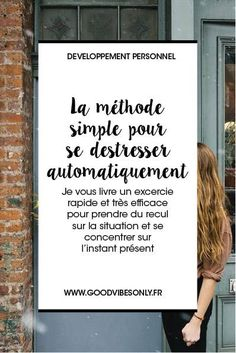 SE CONCENTRER SUR SES SENS : LA METHODE SIMPLE POUR DÉ-STRESSER – Good Vibes Only