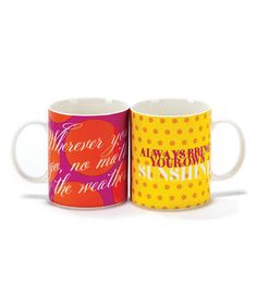 Loving this 'Wherever You Go, No Matter the Weather' Mug on #zulily! #zulilyfinds