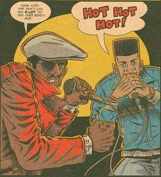 Doug E Fresh and MC Ricky D / Hip Hop Family Tree, by Ed Piskor