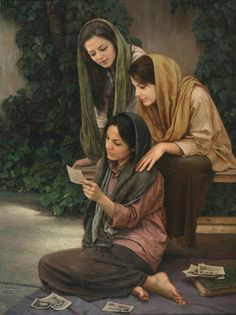 """Albome-ghadimi"" - Pintura de Iman Maleki - ""What cannot letters inspire? They have souls; they can speak; they have in them all that force which expresses the transports of the heart....""—Héloïse to Abelard"