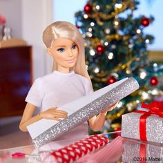 Wrapping up my holiday to-do's!  #barbie #barbiestyle