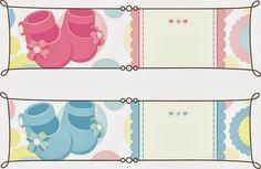 Baby Shower: tarjetas, imprimibles y etiquetas para imprimir gratis.