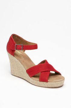 ShopStyle: TOMS Canvas Sandal