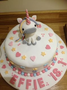 Effies first birthday cake