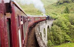Scotland, Fort William-Mallaig steam train // Harry Potter