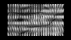 MOMENT FACTORY LAB // GENERATIVE POINT GRIDS Visual explorations using generative deformations of point grids