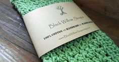 "Sage Green Soft Natural Cloth 9x9"" Handmade Cloth Soft Cloth Cloth Washcloth Fabric Washcloth Natural Washcloth Handmade Cotton by BlackWillowSoaps on Etsy"
