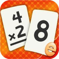 Multiplication Flashcard Quiz and Match Games for kids in and Grade Learning Flash Cards Free Best Math Apps, Addition Flashcards, Multiplication Facts Practice, Math Strategies, Math Work, Fun Math Games, Teaching Technology, Math Practices, Card Games