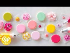 Learn how to make hard-drying icing from the pros with our royal icing recipe. Perfect for decorating sugar cookies, making flowers and much more. Browse Wilton online for thousands of great dessert recipes. Wilton Royal Icing Recipe, Sugar Cookies Royal Icing Recipe, Royal Icing Recipes, Flooding Icing Recipe, Royal Icing Piping, Cake Icing, Hard Cookie Icing, Cupcakes, Cupcake Cakes