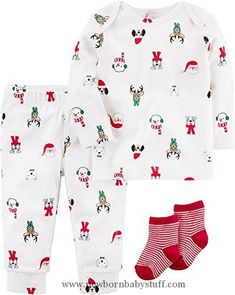 9dd63c39d77 Baby Boy Clothes Carter s Baby 3-Piece Pajama Set 9 Months Carters Baby Girl