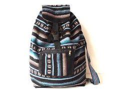 Tribal Fabric Backpack Latin American Peru by sweetllamasupplies