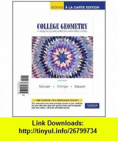 Prentice hall geometry alabama edition 9780131250826 laurie e college geometry a problem solving approach with applications a la carte edition 2nd edition fandeluxe Images