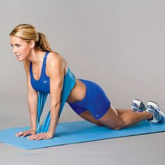 Got a problem area (or two)? This high-speed workout, developed by trainer Amy Bento, star of the 10 Minute Solution: Tone Your Trouble Zones DVD, will tone your jiggle zones.