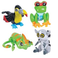 Inflatable Rainforest Animals  $3.99 each
