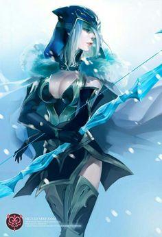 Ashe archère de glace exilée de Demacia car jugé trop puissante pour une femme (Vangard) (niv 30)