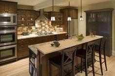 Transitional Craftsman Kitchen - traditional - kitchen - portland - Robin Rigby Fisher CMKBD/CAPS