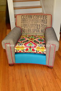 Hey, I found this really awesome Etsy listing at http://www.etsy.com/listing/163388361/vintage-mid-century-club-chair-michelles