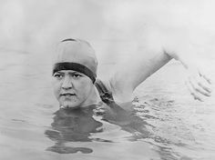 Gertrude Caroline Ederle Became The First Woman To Swim Across The English Channel (1926)