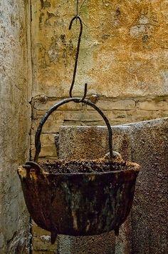 well used cauldron
