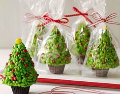 rice krispie cereal treat christmas trees | Rice Krispies Christmas Trees | Cute Everything