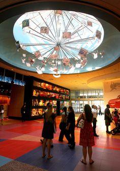 Art of Animation Lobby Light