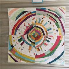 My name appeared on two quilts in this year's Quilt Con show. Both quilts were made in a group. This one, Mistwraith, is just about my favorite thing that I had my hand in last year! Modern Quilt Blocks, Circle Quilts, Square Quilt, Scrappy Quilts, Mini Quilts, Quilting Projects, Quilting Designs, Quilt Design, Quilt Modernen