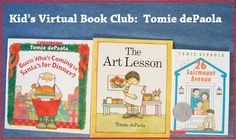 Join us for the Kid's Online Book Club - November's author is Tomie dePaola!
