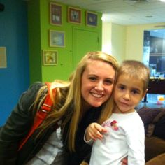 Anna and I at the Ronald McDonald house in New York city. This little girl is sick, as are all of the children there, but oh my stars is she one of the most special people I've met. She doesn't speak English and she's shy, but give her some crayons and let her race you around the room, and words don't matter. The next time you see a Ronald McDonald house donation box when you're getting your Big Mac, toss your spare change in it :)