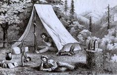 gold-rush-miners-in-tent