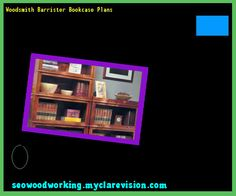 Woodsmith Barrister Bookcase Plans 151808 - Woodworking Plans and Projects!