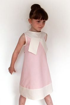 Pastel pink dress for spring!