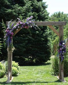 lavender and greenery outdoor wedding backdrop wedding backdrop 40 Loveliest Purple Lavender Wedding Ideas Wedding Ceremony Ideas, Outdoor Wedding Backdrops, Wedding Arch Flowers, Wedding Arch Rustic, Outdoor Wedding Photography, Lilac Wedding, Outdoor Wedding Decorations, Outdoor Ceremony, Wedding Colors