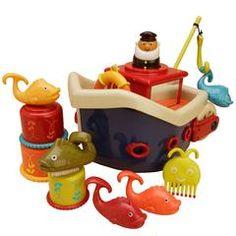 Nyt spændende legetøj til badekaret - Ikke noget bestemt :-)