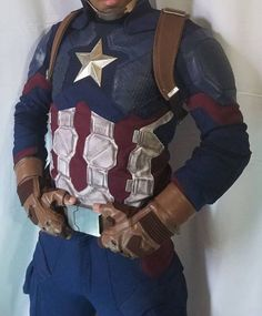 Extra Off Coupon So Cheap Avengers 4 Captain Americareplica costume (No harness belt or helmet) Captain America Motorcycle, Motorcycle Jacket, Avengers, Helmet, Costumes, Stylish, Street Styles, Link, Clothing