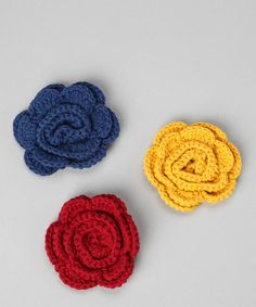 crocheted hair clips, headband or hat clips for baby